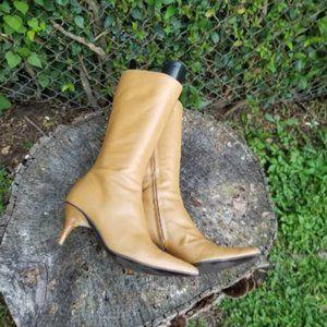 Shoes - Vintage Fornarina High Heel Zipper Boots